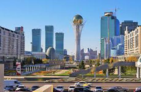 Downtown Astana, Kazakhstan