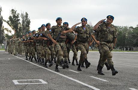 Kazakhstan army