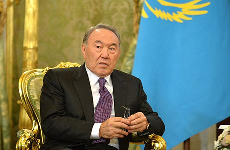 President of Kazakhstan Nursultan A. Nazarbayev
